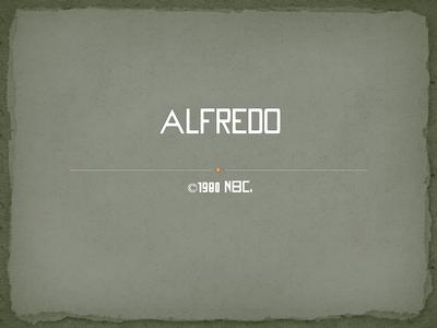 Alfredo 1980