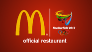 McDonald's Heatherfield Olympics 2013 logo