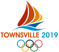 Townsville 2019 Olympics logo official