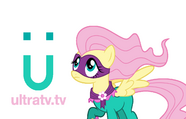 Ultra TV ident - Fluttershy (Version 3)