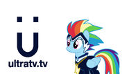 Ultra TV ident - Rainbow Dash (Version 4)
