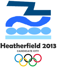 Heatherfield Olympics bid logo 2004