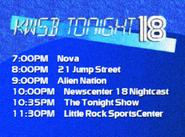 KWSB tonight 1989