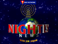 RKO Nightly News open 1991