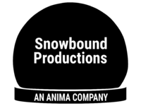 Snowbound Productions 1993 Print Logo