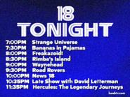 KWSB tonight Nov 1996