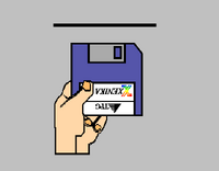 Xenika Version 1 startup screen