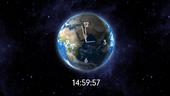 CER2 Clock - Worldwide Clock
