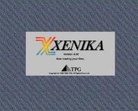 Xenika Version 4 startup screen