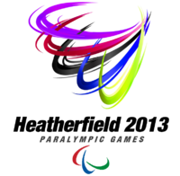 Heather 2013 Paralympics logo