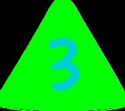 3 Logo (1990s-2000s)