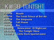 KWSB tonight 1991