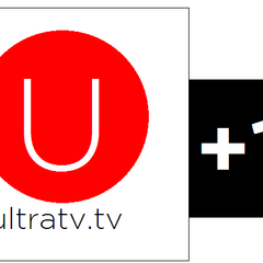 UltraTV+1's logo, used from 2010-2012.