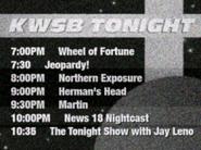 KWSB tonight 1993