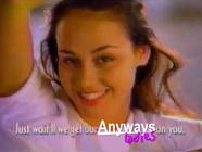 Anyways ladies ad 1996