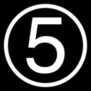 5 Network 1997 logo