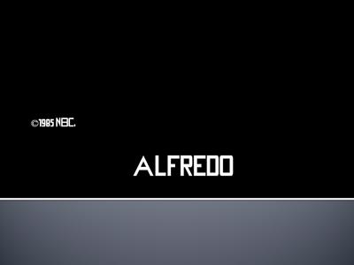 Alfredo 1985