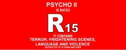 R 15 ID (Psycho II, 1983)