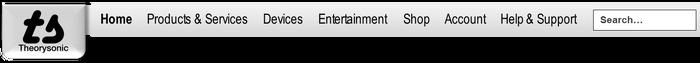 Theorysonic website header 2003
