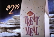 Dairy Queen 2.99 Treat Meal (1992)