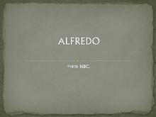 Alfredo 1970