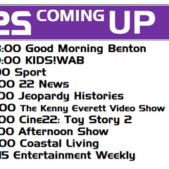 Coming Up bumper aired on October 13, 2009.