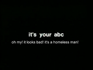 ABC-TV Australia ident spoof on This Hour Has America's 22 Minutes - Homeless Man (2)