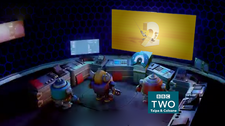 BBC Two Ident Fake Remasted