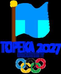 Topeka 2027 Olympics bid logo
