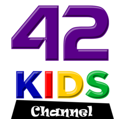 KCER Kids Channel (KCER-DT5), with a three-dimensional style.