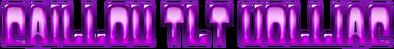 Cool Text - caillou tlt uolliac 219458525754042