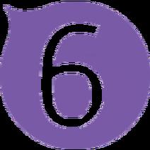 Six Logo 2002-2017