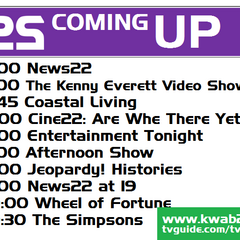 Coming Up bumper on February 12, 2012.