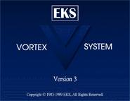 Vortex system 3 startup screen