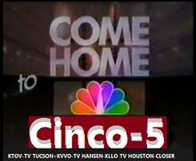 KTOV 1987 Come home to Cinco5