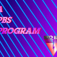 <i>A PBS Program</i> bumper in 1987.
