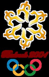 Bedrock 2001 Olympics logo