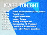 KWSB tonight october 20 1990