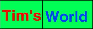 Tim's World logo