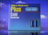 Alka-Seltzer Plus liqui-gels circa 1994