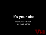 ABC-TV Australia Rosa Parks Memorial ID This Hour Has America's 22 Minutes January 2006 2