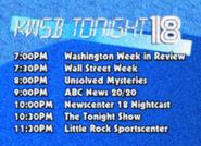 KWSB tonight 1988