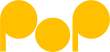 Pop (Hungary)'s third logo
