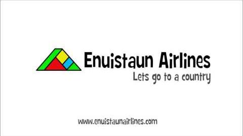 Enuistaun Airlines Logo Animation from 2006-2010