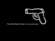 ABC Australia ident spoof 2005 - This Hour Has America's 22 Minutes - Person Killed (2)