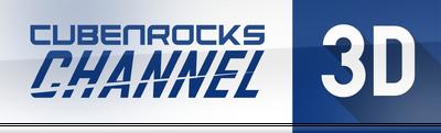 CubenRocks Channel 3D 2018 logo