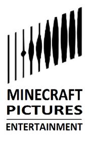 Minecraft Pictures Entertainment New Print Logo