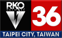 RKO Network 36 Taipei City logo