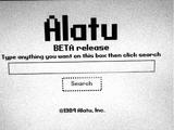 Alatu/Website history