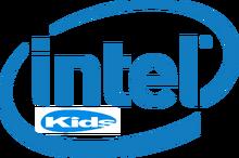 Intel Kids logo 2014-present